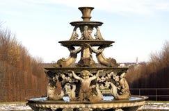 凡尔赛宫的喷泉 库存照片