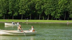 凡尔赛宫的大运河在法国 影视素材