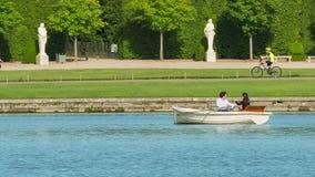 凡尔赛宫的大运河在法国 股票视频