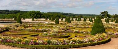 凡尔赛宫的庭院,法国 库存图片