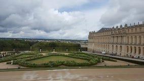 凡尔赛宫的庭院 库存图片