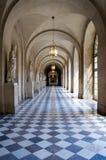 凡尔赛宫的走廊 免版税图库摄影