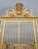 凡尔赛宫的金门或者大别墅de凡尔赛或者完全凡尔赛,在法国 免版税图库摄影