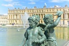 凡尔赛宫-法国 免版税库存图片
