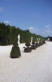 凡尔赛庭院  库存图片