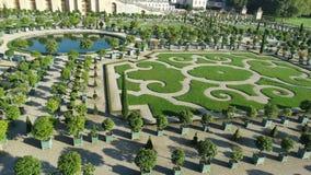 凡尔赛庭院 库存照片
