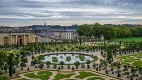 凡尔赛庭院 免版税图库摄影