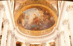 凡尔赛教堂 免版税图库摄影