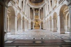 凡尔赛的霍尔 免版税库存照片