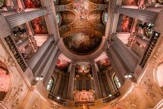 凡尔赛皇家教堂内部  库存图片