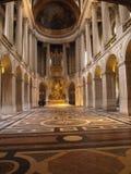 凡尔赛,法国皇家教堂  免版税库存图片
