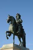 凡尔赛,雕象路易斯14 图库摄影