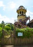 凡尔赛Marlborough塔 库存图片