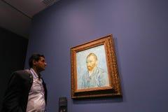 凡高在d'Orsay的Musee 免版税库存照片