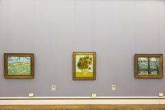 凡高绘画在Neu Pinakothek在慕尼黑 免版税图库摄影