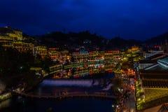 凤凰牌的沱江河,中国 图库摄影