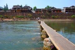 凤凰牌,湖南,中国古城 免版税库存图片