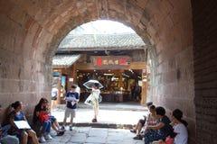 凤凰牌,湖南,中国古城 图库摄影
