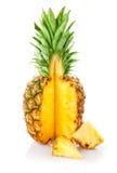 凤梨被切的新鲜水果 免版税图库摄影