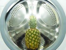 凤梨洗衣机 库存图片
