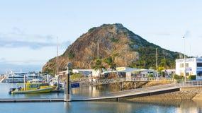 凯佩尔海湾小游艇船坞 免版税库存图片