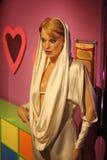 凯利Minogue蜡象 免版税库存照片