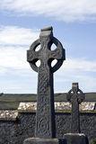凯尔特交叉爱尔兰语 库存照片