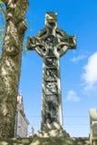 凯尔特十字架在爱丁堡,苏格兰 免版税库存照片