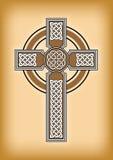 凯尔特十字架 免版税库存照片