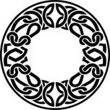 凯尔特圆的框架 向量例证