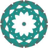 凯尔特圆的装饰品 免版税库存图片