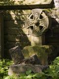 凯尔特墓石 库存图片