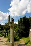凯尔特墓碑 免版税图库摄影
