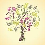 凯尔特结构树 免版税库存照片