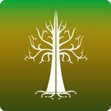 凯尔特结构树 库存图片
