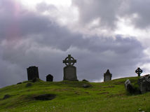 凯尔特cementary 库存图片