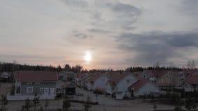 凯拉瓦,春天timelapse的芬兰 股票视频