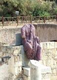 凯撒古老雕塑  库存照片