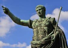 凯撒奥古斯都领导 库存照片