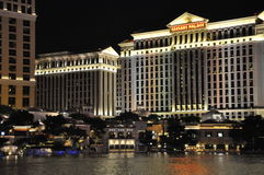 凯撒宫旅馆和赌博娱乐场在拉斯维加斯 免版税库存图片
