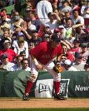 凯文Millar,波士顿红袜 免版税库存照片