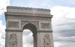 凯旋门,巴黎 库存图片