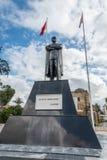 凯末尔阿塔图尔克雕象,凯里尼亚门,尼科西亚,塞浦路斯 免版税库存图片