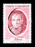 凯末尔阿塔图尔克(1881-1938), serie,大约1996年 图库摄影