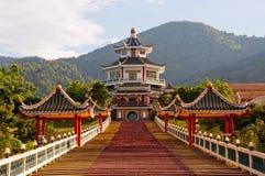 凯爱中国kong寺庙 库存图片