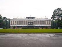 凯爱城市ho minh宫殿统一越南 图库摄影