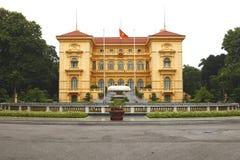 凯爱河内ho minh宫殿总统越南 库存图片