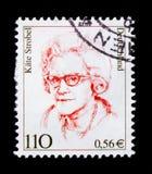 凯特Strobel 1907-1996,政客,德国历史serie的妇女,大约2000年 免版税图库摄影