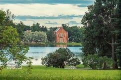 凯瑟琳公园和夏天视图在House海军上将 库存图片