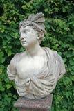 凯瑟琳公园雕塑, ST 彼得斯堡, TSARSKOYE SELO,俄罗斯 免版税库存图片